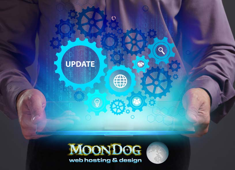 Website Update | MoonDog Web Hosting and Design