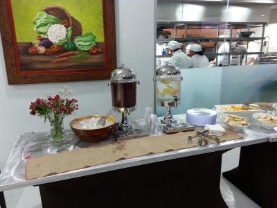 Un montaje precioso, provisto por Que Viva Foods, uno de los facilitadores del website.
