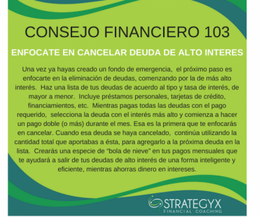 Consejo Financiero 103